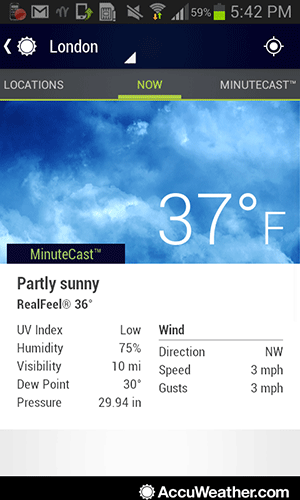 androidweather-accu