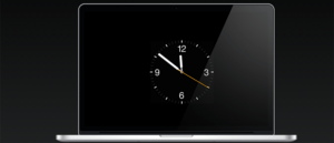 Setați Apple Watch Clock Face ca protector de ecran pe Mac