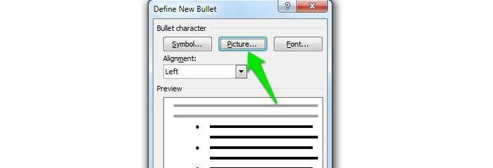 Picture-as-Bullet-Pictures