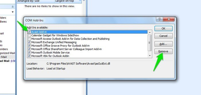 Speed-Up-Outlook-Add-ins-page