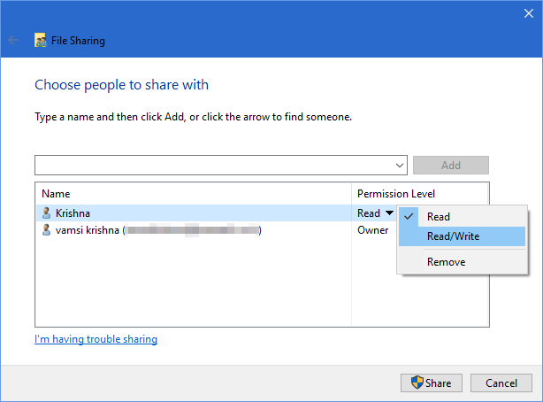 share-windows-folders-android-change-permissions