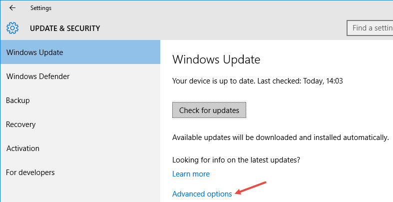 win10-clear-update-cache-advanced-options