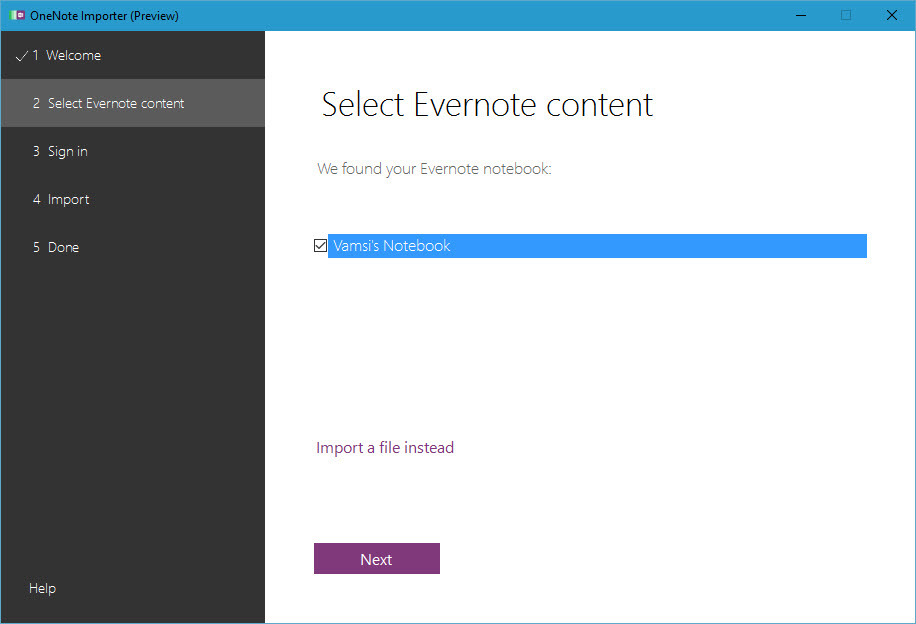 evernote-to-one-not-select-notes