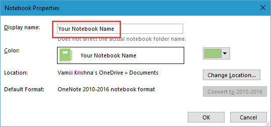 evernote-to-onenote-rename-notebook