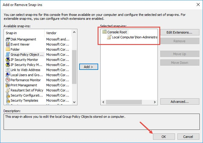 custom-group-policy-snap-in-snap-in-added