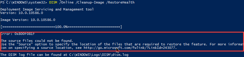 win10-fix-corrupt-system-files-dism-failed-to-fix