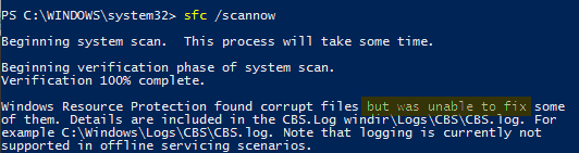 win10-fix-corrupt-system-files-sfc-unable-to-fix