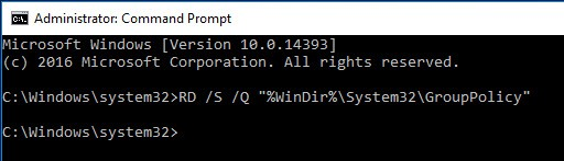 win10-reset-group-policy-settings-execute-first-command