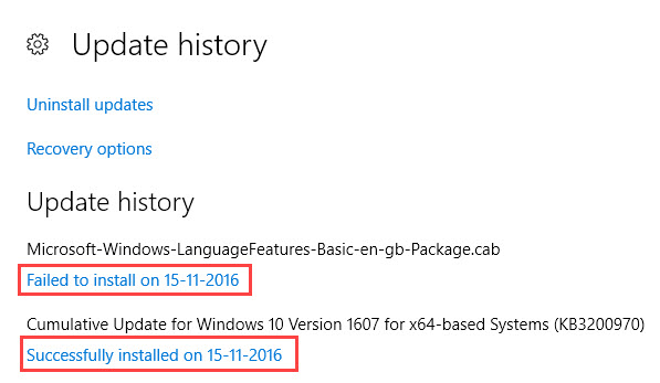 update-history-win10-successful-installed-updates