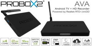 Probox2 AVA Android 6.0 TV Box și recenzie HD Recorder
