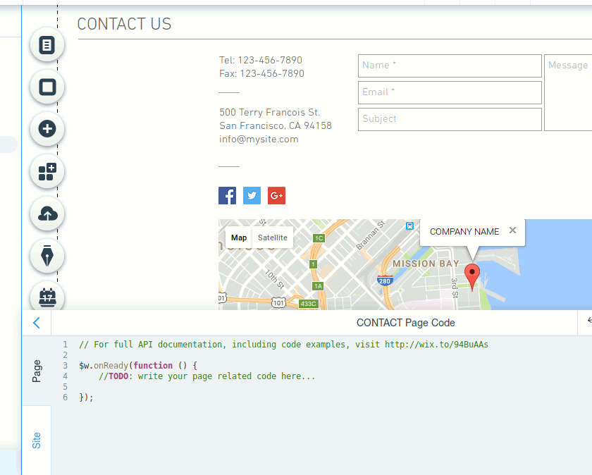 wix-code-page-code