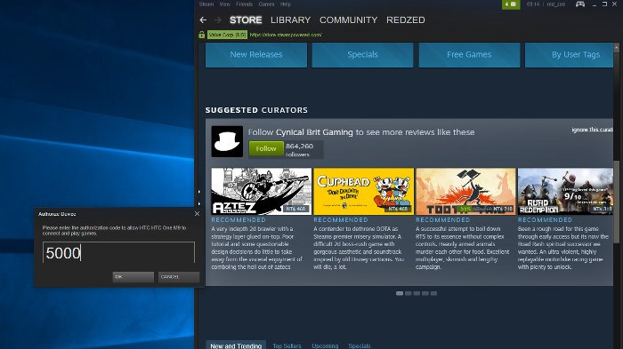 play-games-phone-steam-link-app-authorisation-code-pc