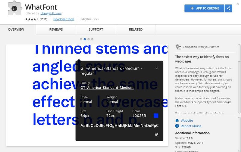 cambiare-sito-font-whatfont-extension