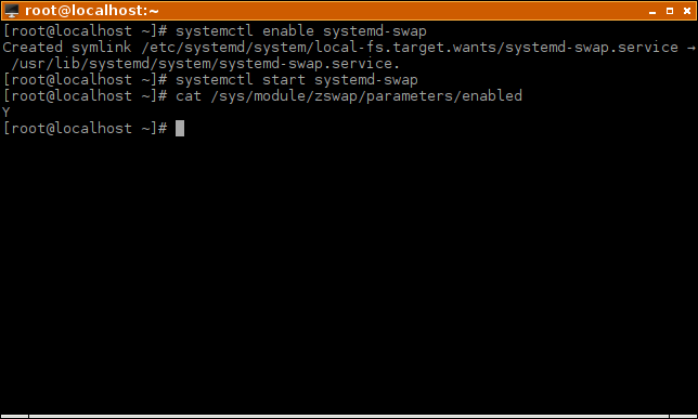 zswap-enable-systemd-swap-service