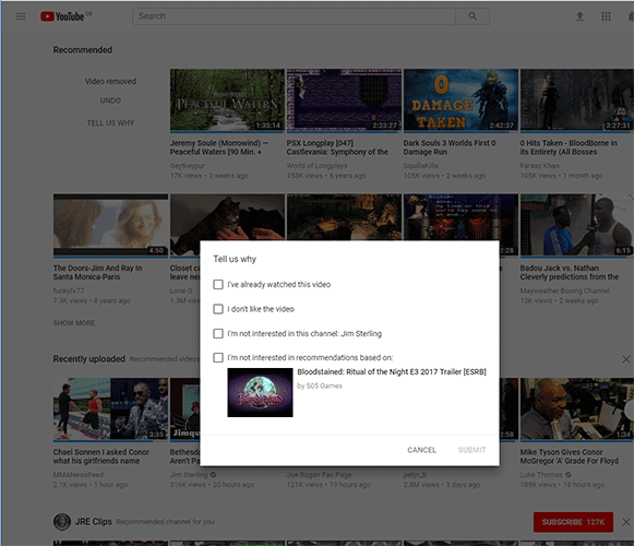 how-to-block-youtube-channels-recommended-feed