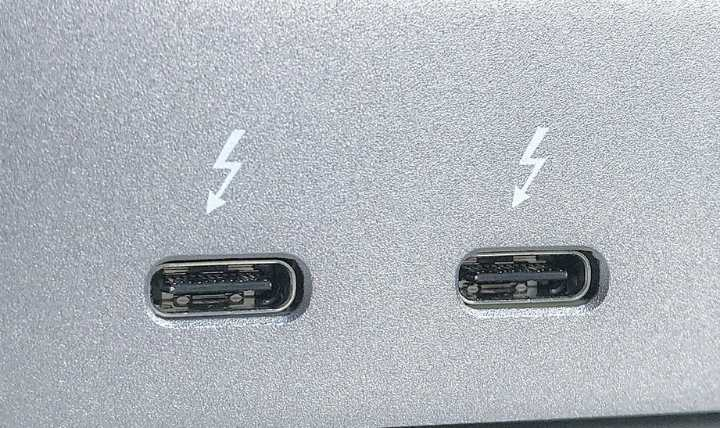 Interface usb Power Delivery Thunderbolt