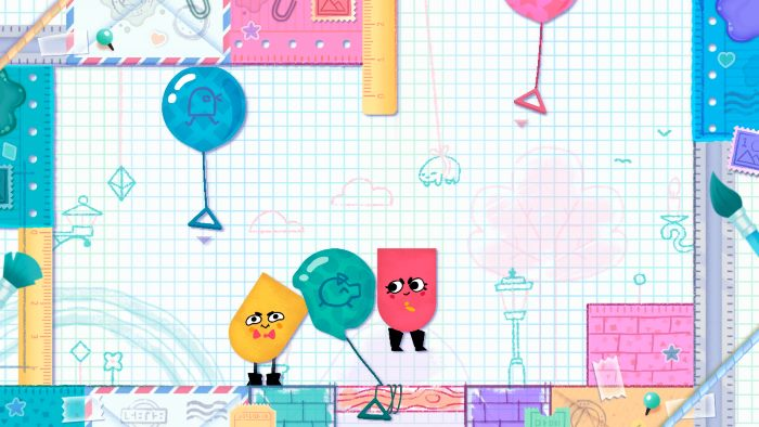 Switch Snipperclips educacionais