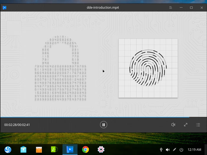 Deepin Review Intro Video Security