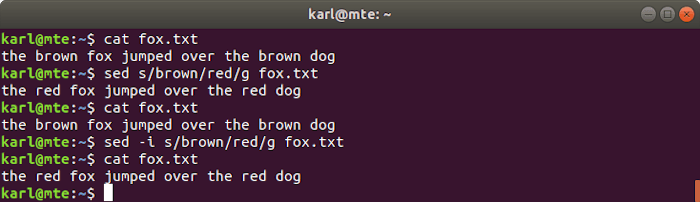 Linux Text Tools Sed