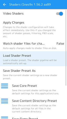 Retroarch Android Guide-Shader