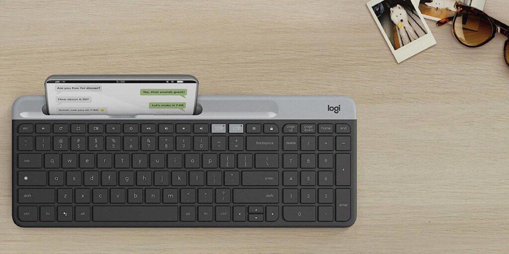 Economisiți 18% la tastatura fără fir Logitech K580 pentru Chrome