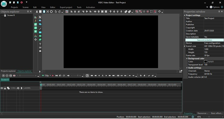Vsdc Free Video Editor Review Bearbeitungsfenster