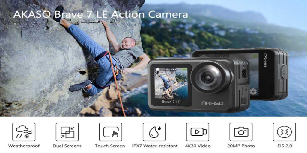 AKASO Brave 7 LE Action Camera Review