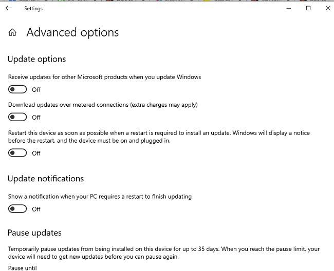 Elenco di controllo per l'aggiornamento di Windows 10 avanzato