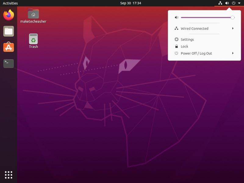 Ekran Klavyesi Linux Tıklama Ayarları