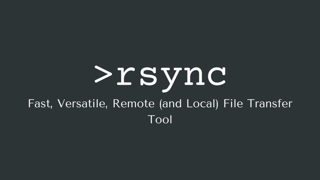 Exemple RSync - Opțiuni Rsync și Cum să copiați fișiere pe SSH
