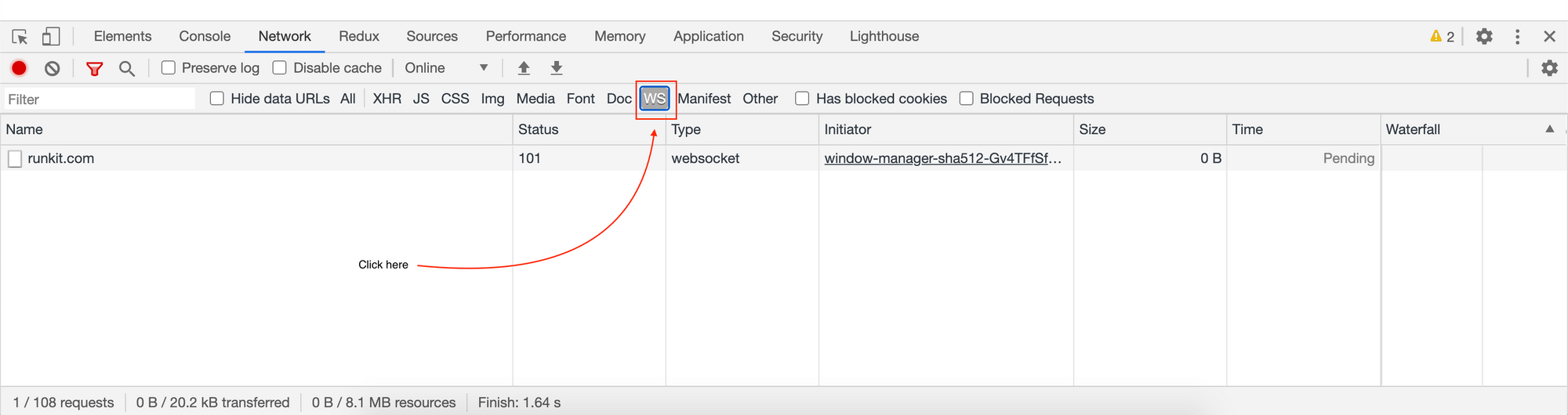 1612037526 862 Chrome DevTools Cum se filtreaza solicitarile de retea