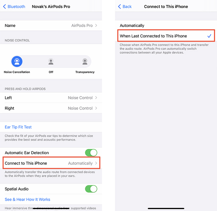 Airpods Automatic Switching Bluetooth Preferences