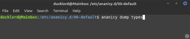 Ananicy Control Apps Dump-Typen
