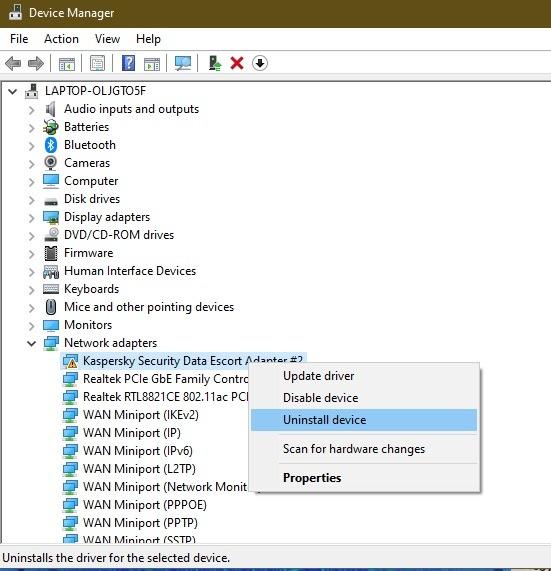 Comment réparer l'erreur de défaillance de l'état d'alimentation du pilote dans la désinstallation de Windows 10