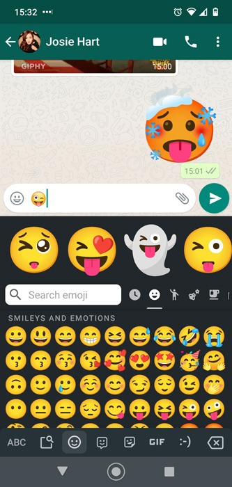 Android Emoji Combos Gboard Intensification