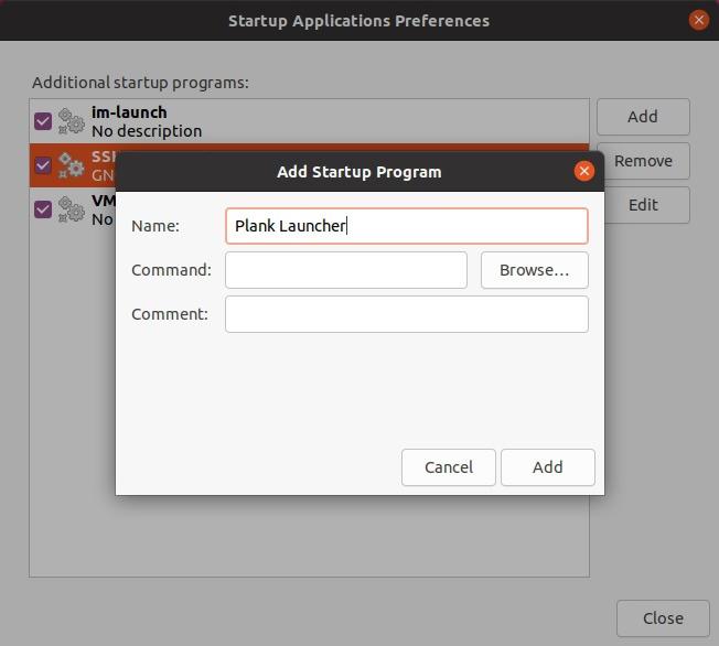 So starten Sie Apps mit Verzögerung in Ubuntu optimal automatisch Neuer Eintrag und Namenseintrag