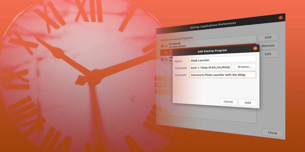 Cum să amânați aplicația de pornire în Ubuntu