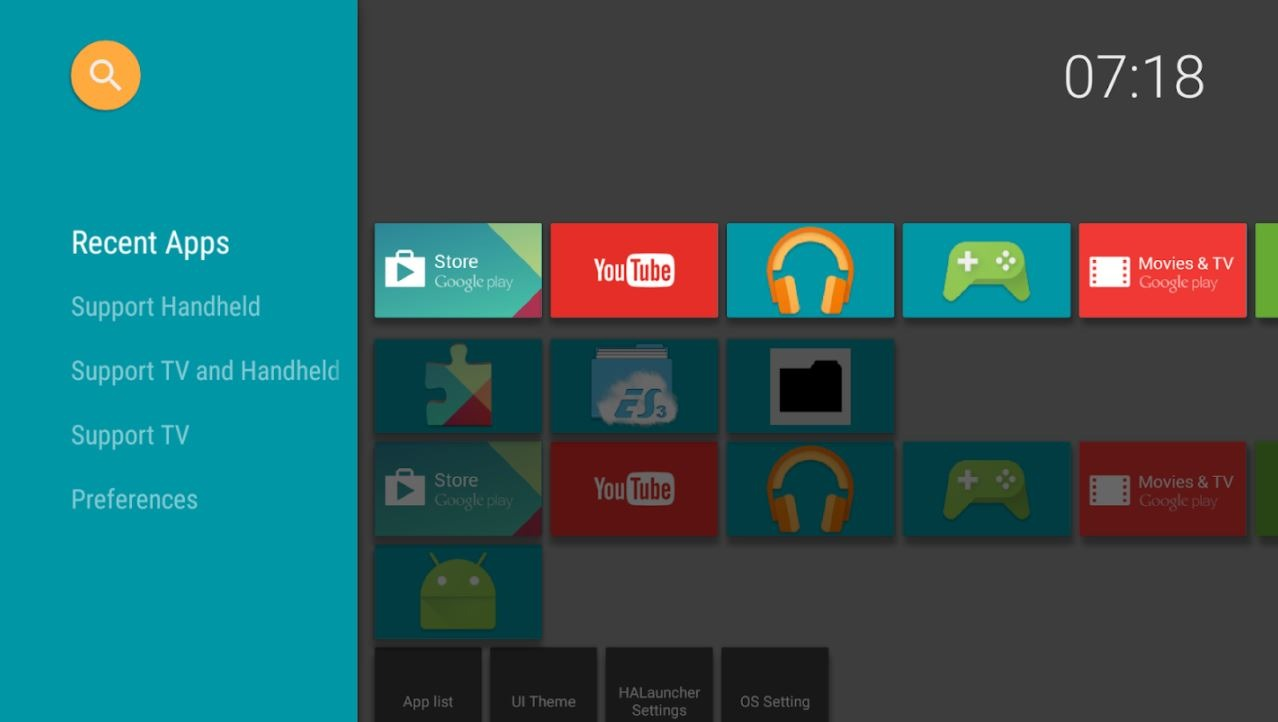 Halauncher Android Tv