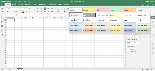 Onlyoffice Workspace Cloud Review Spreadsheets