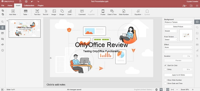 Onlyoffice Workspace Cloud Review Presentation