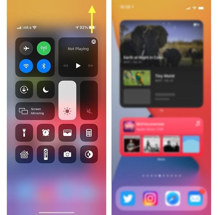 Iphone 12 Pil Yüzde Kontrol Merkezi Açıldı