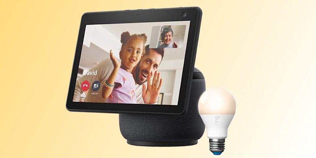 Echo Show 10 ve Ring Smart Bulb'da 65 $ tasarruf edin.