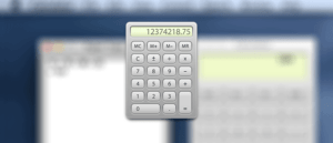 So aktivieren Sie Papierband in der Native Calculator App für Mac