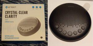 eMeet Luna Wireless Speakerphone Review: Kristallklare Klarheit